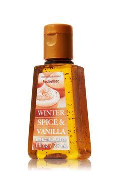 Winter Spice & Vanilla PocketBac from Bath & Body Works! Bath N Body Works, Body Wash, Bath And Body, Scented Hand Sanitizer, Perfume Body Spray, Body Cleanser, Body Lotions, Smell Good, It Works