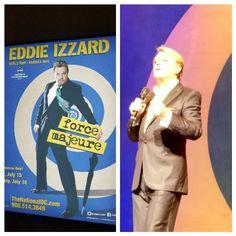 Eddie Izzard - Force Majeure Washington DC 17-07-2016