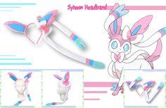 Sylveon-Style Headband by AnimeNomNoms.deviantart.com on @deviantART