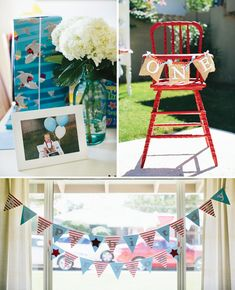 {Amazing!} Rustic & Vintage County Fair First Birthday // Hostess with the Mostess®