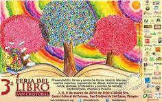 Cartel 3ra Feria del Libro San Cristóbal