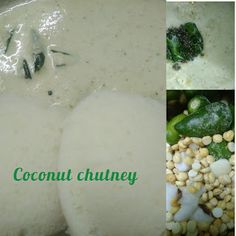 Coconut - Roasted Bengal gram chutney   Coconut Thuvayal  Coconut Chutney Veg Recipes Snacks, Coconut Chutney, Green Chilli, Chapati, Curry Leaves, Tamarind, Bengal, Cooking Tips, Side Dishes