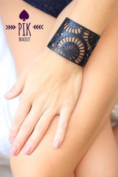 HOT PRICE Leather Bracelet cuff Leather Cuff Ladies