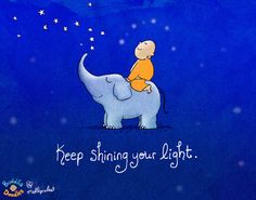 "{Pre-Order} ""Keep Shining Your Light"" Buddha Doodles Cotton Throw — BuddhaDoodles"