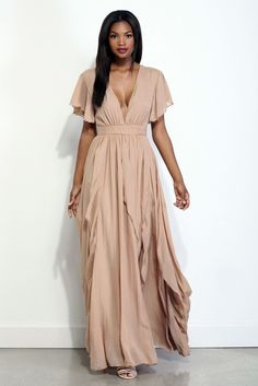 d7da50226b6 Acacia Natural Earth Goddess Dress