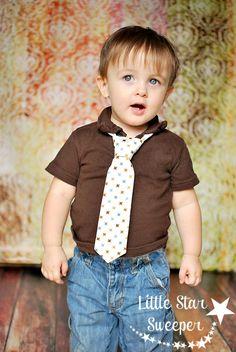 Necktie :)     Little Star Sweeper Blog | Handmade Hair Accessories | Boutique Boy Clothes | Photo Props