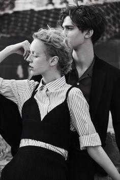 Harper's Bazaar Russia April 2017 Franzi Frings by Agata Pospieszynska // Styled by: Svetlana Vashenyak.