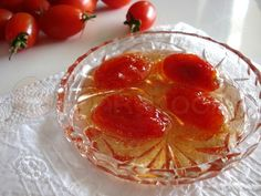 Cherry Tomatoes in Syrup! So Different!  http://www.funkycook.gr/gliko-tou-koutaliou-ntomataki/#