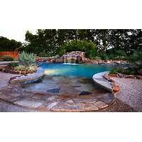 The Great Outdoor Swimming Pool Designs : Outdoor Swimming Pool Design LaurieFlower 005 Swimming Pool House, Swimming Pool Designs, Pool Spa, Walk In Pool, Living Pool, Beach Entry Pool, Pool Prices, Pool Builders, Beautiful Pools