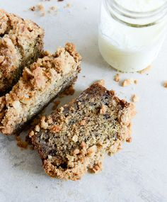 "<strong>Get the <a href=""http://www.howsweeteats.com/2013/02/whole-wheat-banana-bread-with-coconut-cinnamon-streusel/"" target=""_blank"">Whole Wheat Coconut Banana Bread with Coconut Streusel recipe</a> from How Sweet It Is</strong>"