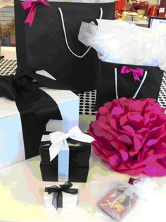 Creative Packaging is North America's leading food, gift , party & retail packaging company for Business & Personal. Packaging Company, Retail Packaging, Color Trends, Gift Wrapping, Black And White, Creative, Party, Pink, Gifts