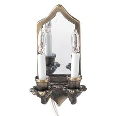Louisa Wall Sconce - The dollhouse louisa miniature wall sconce is scale, Haunted Dollhouse, Dollhouse Miniatures, Dollhouse Lights, Candle Wall Sconces, Wall Sconce Lighting, Working Wall, Plates On Wall, Light Up, Wall Lights