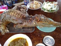 Spécial « crocodile food ... gator cutthoat