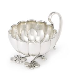 A Fabergé Silver Punch Cup, Moscow, circa 1890