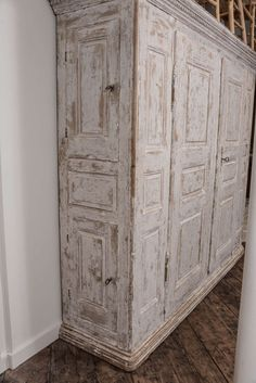 Swedish Armoire | From a unique collection of antique and modern wardrobes and armoires at https://www.1stdibs.com/furniture/storage-case-pieces/wardrobes-armoires/