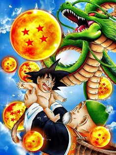 Images dragon Ball Goku bébé et grand père gohan Dragon Ball Gt, Dragon Ball Z Shirt, Kid Goku, Anime Naruto, Thanos Avengers, Goku Wallpaper, Manga Dragon, Fan Art, Drawings