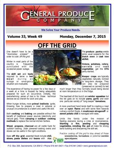 "Practice cooking ""off the grid "" in preparation for crisis or inconvenience."