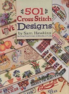 Gallery.ru / Фото #1 - Sam Hawkins - 501 Cross Stitch Designs - tymannost
