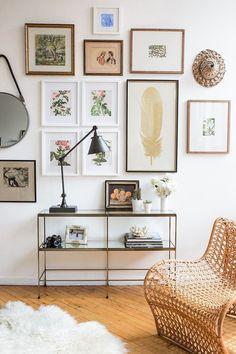 8 x coole gallery walls om je huis wat meer persoonlijkheid te geven…