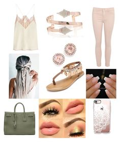 """""""Tonight we are young"""" by kherold on Polyvore featuring Zadig & Voltaire, Penny Loves Kenny, Dana Rebecca Designs, Casetify and Yves Saint Laurent"""