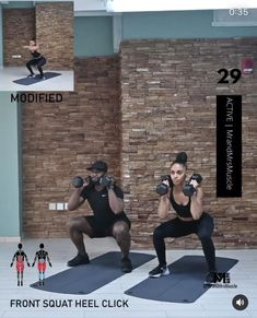 Fitness Workouts, Full Body Hiit Workout, Gym Workout Videos, Hitt Workout, Leg Day Workouts, Fitness Workout For Women, Fun Workouts, Body Fitness, Workout Partner