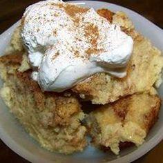 Love this bread pudding recipe.  finally found it...