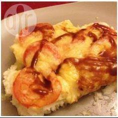 Makkelijke ovenschotel met aardappelpuree, spekjes en kaas @ allrecipes.nl