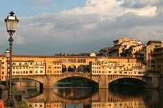 I love it, the Ponte Vechio at Firenze. Do you still keep that postcard from Firenze???