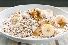 Pumpkin Cream Cereal + Amaranth, Almond Milk, Honey, Cinnamon, Pumpkin Puree, Vanilla, Nutmeg & Banana + Via Edible Perspective