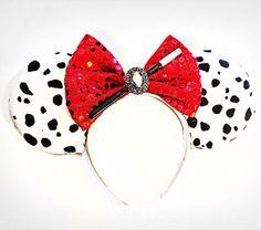 Oreilles de Cruella, Disney Cruella De Vil inspiré souris oreilles, Disney 101…