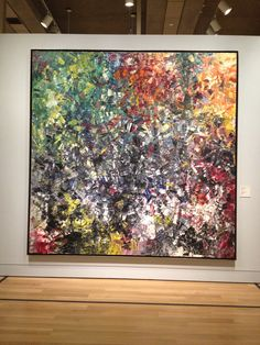 Chèvreuse II -- Jean Paul Riopelle, Art Gallery of Ontario. Follow the biggest painting board on Pinterest www.pinterest.com/atelierbeauvoir