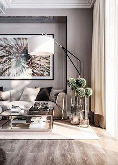 Trendy Home Sala Grande Home Living Room, Living Room Decor, Workout Room Home, Home Studio Photography, Sala Grande, Apartment Design, Apartment Styles, Trendy Home, Best Interior Design