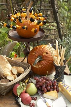 Halloween Party in the Wood – The Daily Basics #fall #Halloween