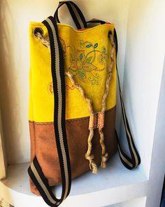 Embroidery Purse, Greek Design, Crochet Purses, Summer Bags, Flower Patterns, Hippie Boho, Gifts For Women, Bucket Bag, Backpack