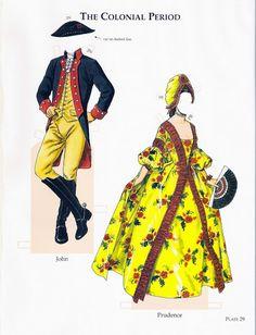 colonial period - edprint2000paperdolls - Picasa Webalbum