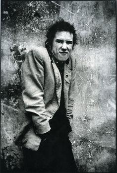 Johnny Rotten - Photo by Anton Corbijn.