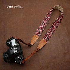CAM-en Cinghie fotocamera qualité universelle Denim modèle de fraise Bandoulière / courroie de cou / Bandoulière / Sangle (2007122)