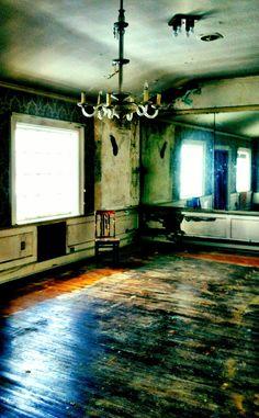 Abandoned Detroit Boat Club. 1902-1996