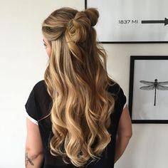 Lørdags inspo… Long Hair Styles, Instagram Posts, Beauty, Beleza, Long Hairstyle, Long Hairstyles, Long Hair Cuts, Long Haircuts, Long Hair Dos