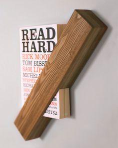 Foreword la bibliothèque minimaliste par Said The King Salon Interior Design, Salon Design, Wood Projects, Woodworking Projects, Wood Furniture, Furniture Design, Objet Deco Design, Diy Regal, Wood Design