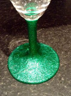 Emerald Glitter glasses £6 each. 2 for £10, 4 for £18 + p&p www.facebook.com/hellobuttonbug
