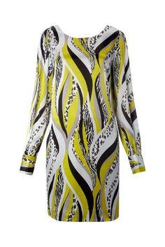 Biba Silk mixed animal print shift dress by Biba :: Clozette Shoppe  http://shoppe.clozette.co/product/HouseOfFraser-166223269/biba-silk-mixed-animal-print-shift-dress