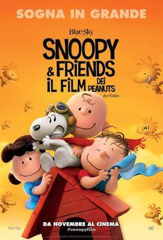 a clacca piace leggere...: snoopy and friends - il film dei peanuts