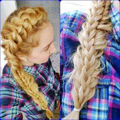 Cute one side dutch braid ^_^