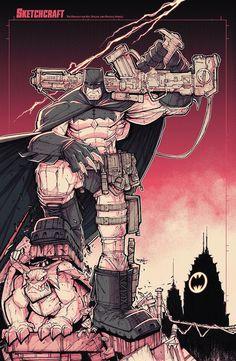 The Dark Knight Returns by Rob Duenas