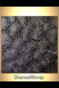 Modern metallic art by ZarasShop