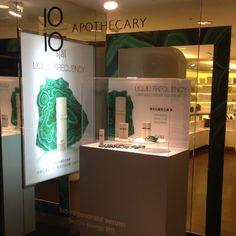 Window display at 10/10 Apothecary in Taipei, Taiwan