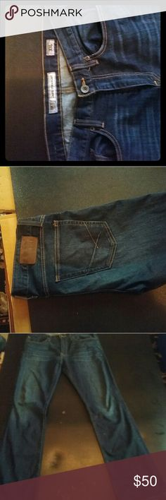 Men's bke jeans Great lightly used jeans. No holes or staining. Like new condition Buckle Jeans Straight