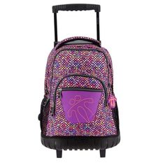 0E1 es el modelo de esta magnifica mochila Totto con ruedas se puede llevar también a la espalda de gran calidad
