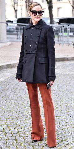 Olivia Palermo's Fall 2017 Paris Fashion Week Looks   InStyle.com